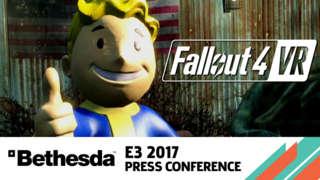 Fallout 4 VR Reveal Trailer - E3 2017