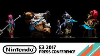 Zelda: Breath Of The Wild Amiibo Reveal Video - E3 2017
