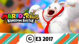 E3 2017: Mario + Rabbids: Kingdom Battle - World 1 Battle & Boss Demonstration