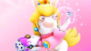Mario + Rabbids Kingdom Battle - Rabbid Peach Character Spotlight Trailer