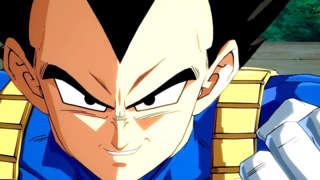 Dragon Ball FighterZ - Vegeta Gameplay Trailer