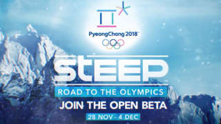 Steep: Road To The Olympics - Open Beta Trailer