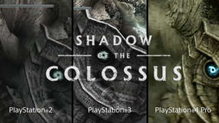 Shadow Of The Colossus - PSX 2017: Comparison Trailer