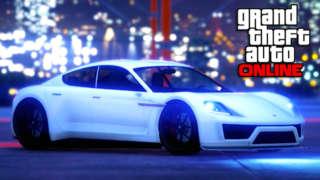 Grand Theft Auto Online - Pfister Neon Electric Sportscar Trailer