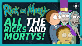 """All The Ricks and Mortys from """"The Ricklantis Mixup"""""""