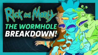 Rick and Morty S3E5 - Wormhole Scene Breakdown & References!