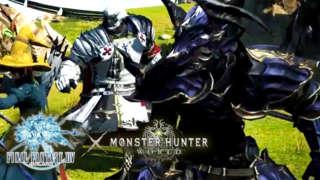 Final Fantasy XIV x Monster Hunter World - Official Collaboration Teaser Trailer | E3 2018