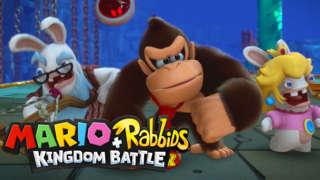 Mario + Rabbids Kingdom Battle - Donkey Kong Adventure Official Trailer | E3 2018