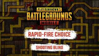 PUBG Mobile - Rapid-Fire Choice: Shooting Blind Exclusive Trailer