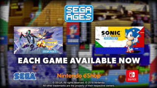 Sega Ages - Sonic The Hedgehog & Thunder Force IV Official Launch Trailer