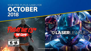 PlayStation Plus - October 2018's Free PS4 Games Lineup Trailer