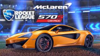 Rocket League - McLaren 570S Car Pack Official Trailer   The Game Awards 2018
