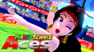 Mario Tennis Aces - Pauline Character Reveal Trailer