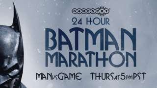 Batman Arkham 24 Hour Marathon with MANvsGAME
