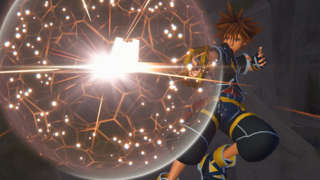 Kingdom Hearts 3 Gameplay - Hercules' Titan Boss Fight