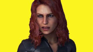 Marvel's Avengers Black Widow Assault Drop Zone Beta Gameplay