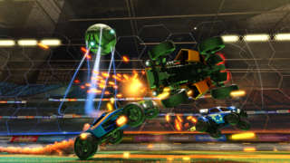 Multiplayer Vehicular Madness in this Exclusive Rocket League Trailer