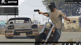 Grand Theft Auto V PC - Rockstar Editor Official Introduction