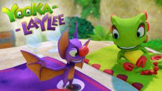 Yooka-Laylee - Release Date Trailer
