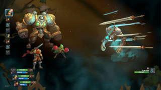 Battle Chasers: Nightwar - Boss Battle Gameplay