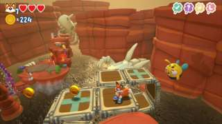 Helping A Yeti And Jumping Over Tar Pits In Super Lucky's Tale - Gameplay