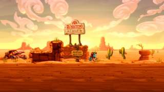 The First 17 Minutes Of SteamWorld Dig 2 Gameplay