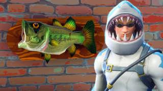 Fortnite - Fish Trophy Locations (Season 6, Week 8)