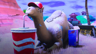 Fortnite - Visit A Viking Ship, A Camel, And A Crashed Battle Bus Location Guide