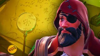 Fortnite - Search Where The Magnifying Glass Sits On The Treasure Map Loading Screen (Season 8, Week 3)