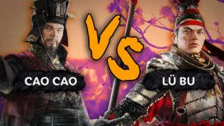 Cao Cao VS Lu Bu - Total War: Three Kingdoms 4K Battle Gameplay