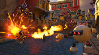 Sonic Forces Gameplay - Surviving A City Under Siege At E3 2017