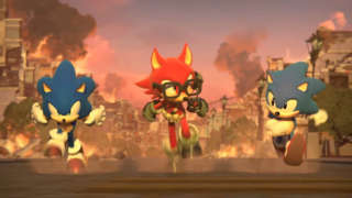 Sonic Forces Gameplay: Taking Down Eggman With A Custom Character - E3 2017