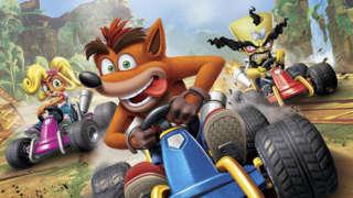 Crash Team Racing Nitro-Fueled Gameplay: Speeding Across 4 Rad Tracks
