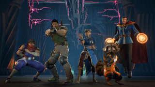 Marvel Vs. Capcom: Infinite - Story Mode Demo Gameplay