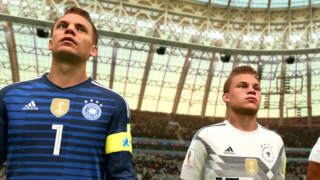 FIFA 18 World Cup Update Gameplay - Germany Vs. Mexico