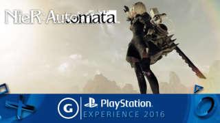 NieR Automata - PSX 2016 Gameplay Trailer