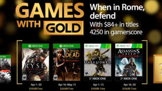Xbox Games With Gold - April 2017