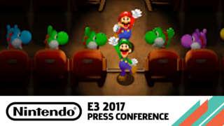 Mario & Luigi: Superstar Saga + Bowser's Minions Official Game Trailer - E3 2017