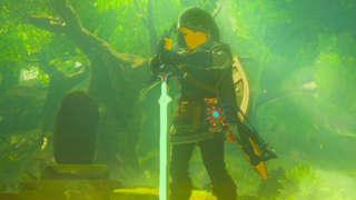 Trial Of The Sword DLC - Zelda: Breath Of The Wild Gameplay