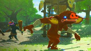 Zelda: Breath Of The Wild - Master Mode Gameplay