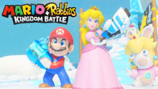 Mario + Rabbids Kingdom Battle - Combat Gameplay Trailer