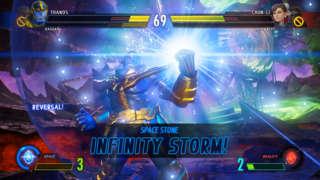 Marvel Vs. Capcom: Infinite - Space Stone Madness Gameplay