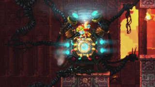 Destroying a Doomsday Machine in SteamWorld Dig 2