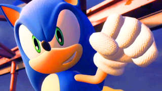 Sonic Forces Nintendo Switch Japanese Demo Gameplay