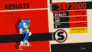 Sonic Forces - S Ranking The Luminous Forest