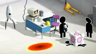 Bridge Constructor Portal - Cake, Killer Robots, and Aperture Science Gameplay