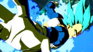 Dragon Ball FighterZ - SSGSS Vegeta Gameplay Trailer