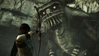 Shadow Of The Colossus 4K PS4 Pro Gameplay