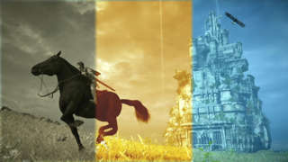 Shadow Of The Colossus - All 15 Gorgeous Filters Gameplay