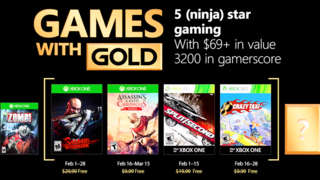 Xbox Live - February 2018 Games With Gold